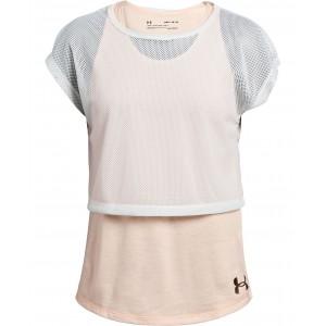 Big Girls Infinity Layered-Look T-Shirt