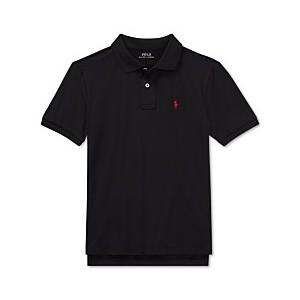 Big Boys Moisture-wicking Tech Jersey Polo Shirt