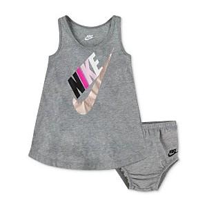 Baby Girls Logo-Print Racerback Dress