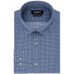 Assorted Mens Slim-Fit Active Stretch Moisture-Wicking Non-Iron Dress Shirts