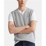 Mens Big & Tall Cotton Sweater Vest