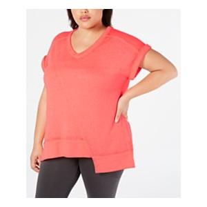 Plus Size Asymmetrical T-Shirt