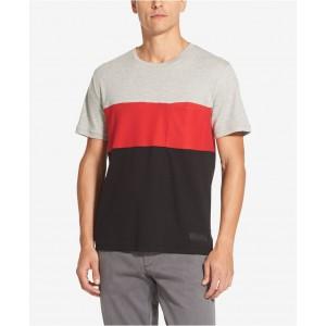 Mens Interlock Colorblocked T-Shirt