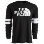 Mens Collegiate Logo Graphic Long Sleeve T-Shirt