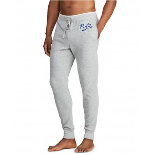 Mens Logo Script Pajama Joggers
