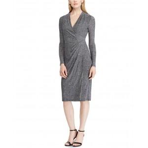 Petite Jersey Long-Sleeve Dress