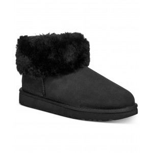 Womens Classic Mini Fluff Booties