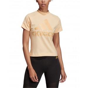 Glam-Logo Cropped T-Shirt