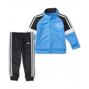Little Boys 2-Pc. Colorblocked Jacket & Pants Tricot Track Set