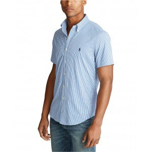 Mens Big & Tall Classic Fit Performance Twill Shirt