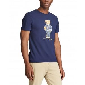 Mens Custom Slim Fit Polo Bear T-Shirt