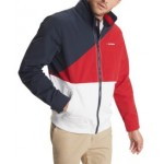 Mens Tate Colorblocked Yacht Jacket with Zip-Out Hood