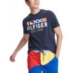 Mens Big & Tall Gate Nautical Logo Graphic T-Shirt