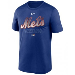 New York Mets Mens Authentic Collection Legend Practice T-Shirt