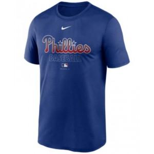 Philadelphia Phillies Mens Authentic Collection Legend Practice T-Shirt