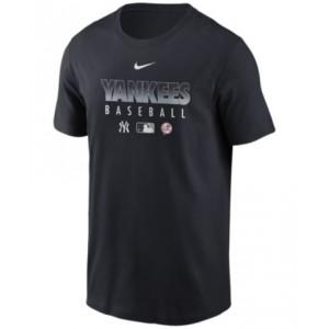 New York Yankees Mens Early Work Dri-Fit T-Shirt