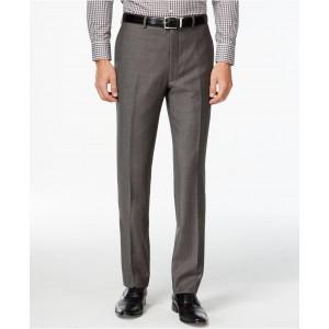 Pants Charcoal Pindot 100% Wool Modern Fit
