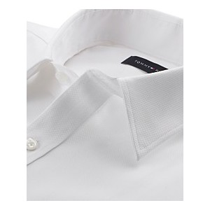 Mens Athletic Fit Performance Stretch TH Flex Collar Dress Shirt, Created for Macys