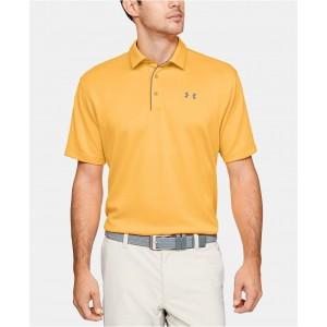 Mens Tech Textured-Stripe Polo