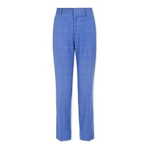 Big Boys Stretch Windowpane Suit Pants