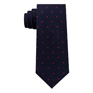 Mens Herringbone Dot Tie