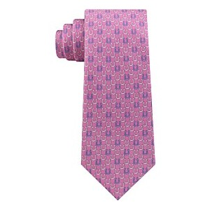 Mens Derby Classic Horseshoe Silk Tie