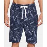 Modern Essentials Mens Printed Pajama Shorts
