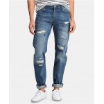 Mens Hampton Relaxed Straight Jeans