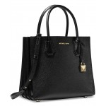 Mercer Small Leather Accordion Tote