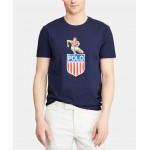 Mens Big & Tall Classic-Fit Chariots Graphic T-Shirt