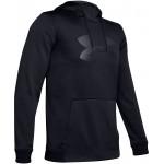 Mens Armour Fleece Big-Logo Hoodie