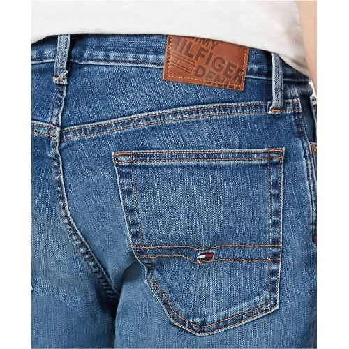 타미힐피거 Mens Slim-Fit Yeti Cool Denim Jeans, Created for Macys