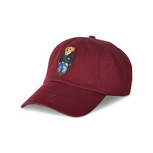 Mens Polo Bear Cap