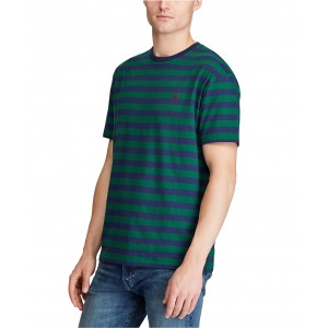 Mens Classic Fit Striped Cotton T-Shirt