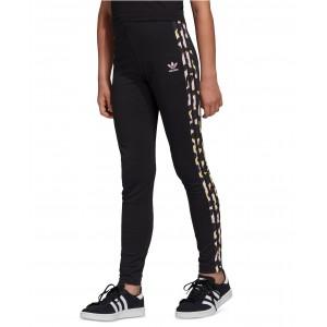 Big Girls LZ Leopard Striped Leggings
