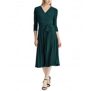 Petite Jersey Surplice Dress