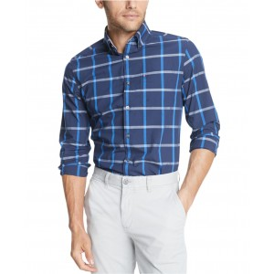 Mens Buckner Windowpane Shirt, Created For Macys