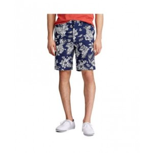 Mens Relaxed Fit Polo Bear Short