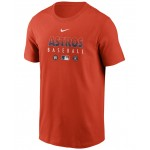 Houston Astros Mens Early Work Dri-Fit T-Shirt