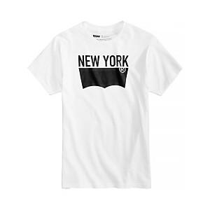 Mens NYC Batwing Logo-Print T-Shirt