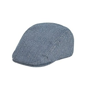 Mens Railroad Striped Ivy Hat