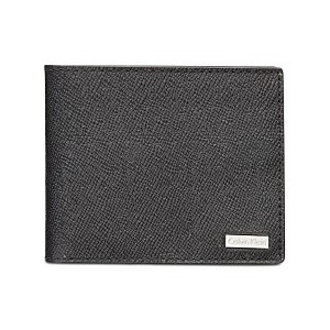 Mens Saffiano Leather Slim Wallet