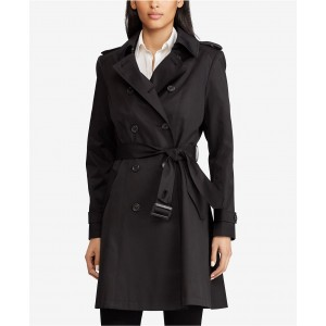 Belted Water Resistant Trench Coat, Created for Macys, Created for Macys