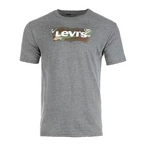 Mens Camo Batwing Logo-Print T-Shirt