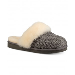 Womens Cozy Knit Slippers