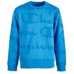 Big Boys Script-Print Sweatshirt