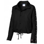 Cropped Water-Repellent Coachs Jacket