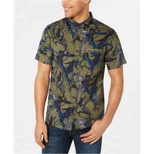 Mens Tropical Pocket Shirt