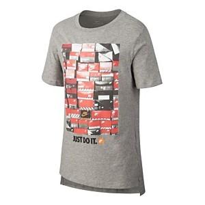 Big Boys Shoebox-Print Cotton T-Shirt