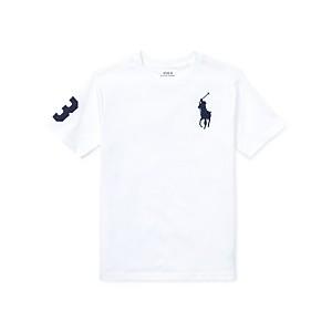 Big Boys Jersey Crewneck T-Shirt